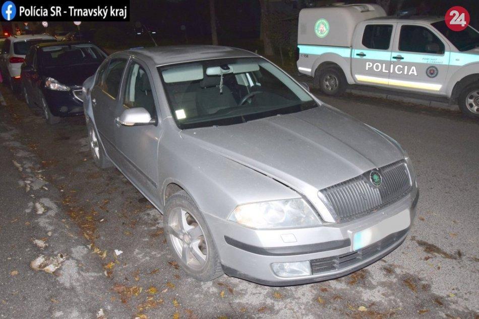 Na Michalskej ulici zadržala polícia muža: V aute prevážal takmer 300 dávok drog