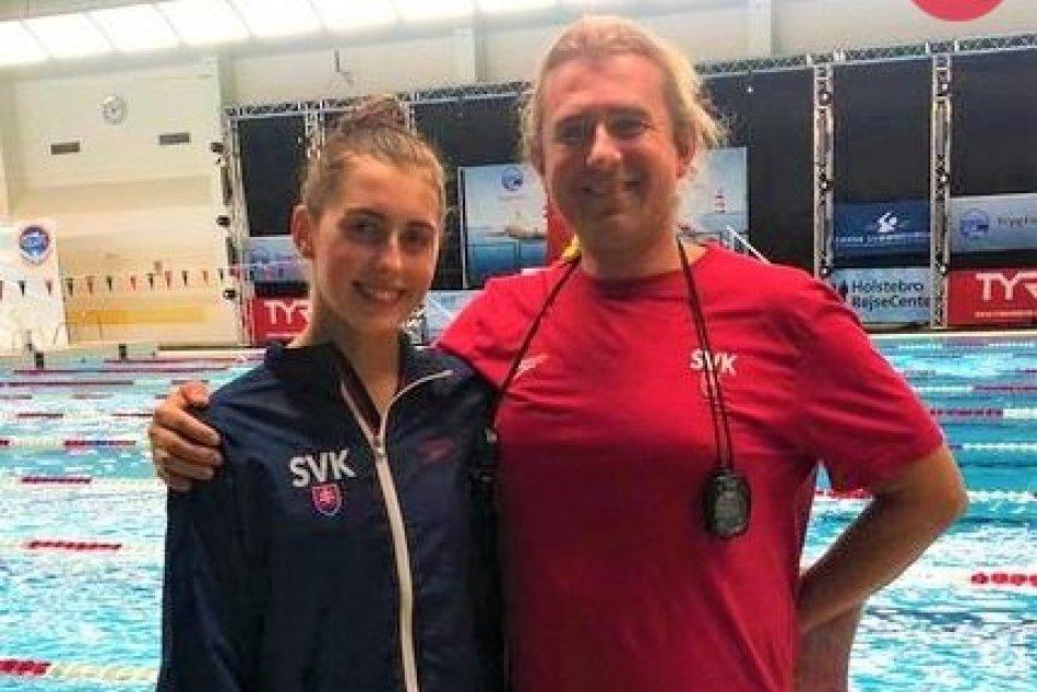 FOTO: Nikoleta Trníková a jej tréner Karel Procházka po úspechoch v Esbjergu