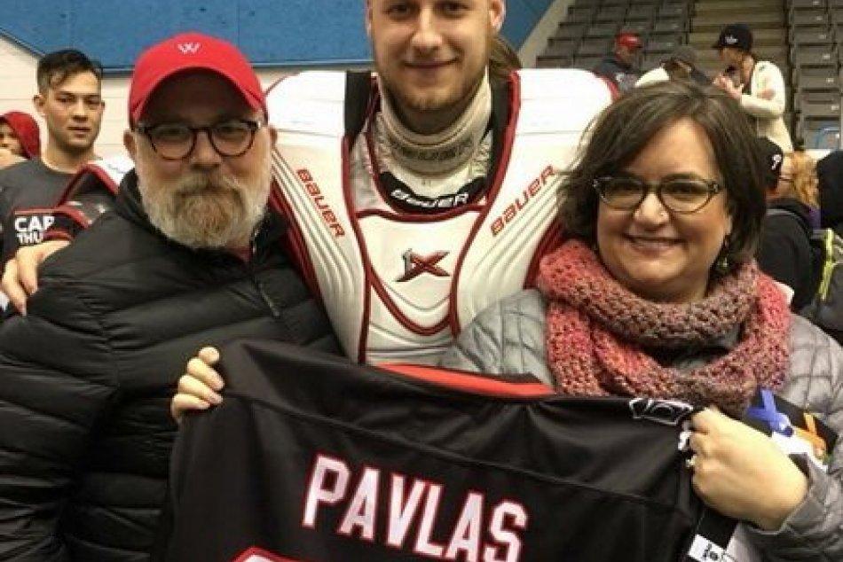 Christián Pavlas a jeho rodina Carolina Thunderbirds