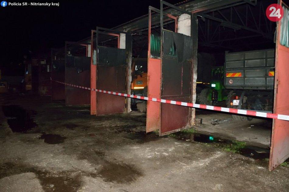 Požiar v Šuranoch zlikvidoval mestský majetok