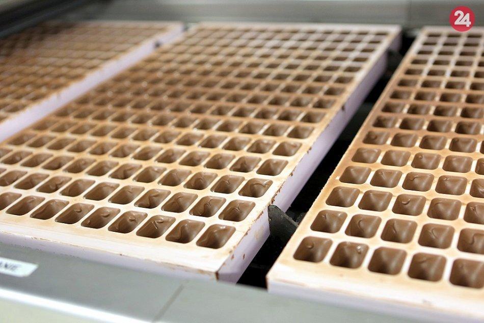 Výroba čokolády Mondelēz