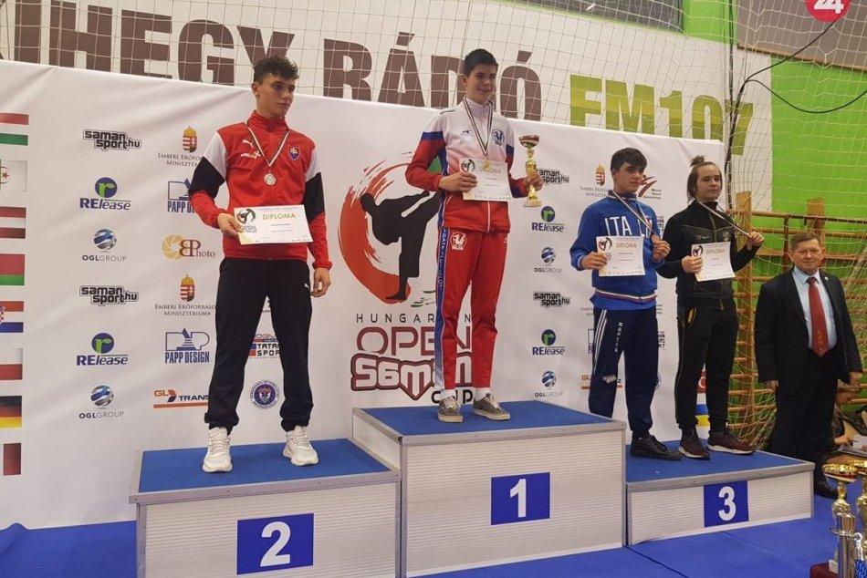 Karatisti zo Spišskej úspešní na turnaji v Maďarsku