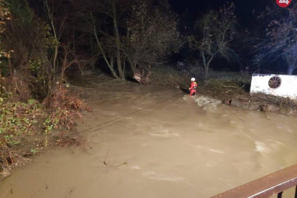 Silný prúd rieky Muránka strhol tri ženy