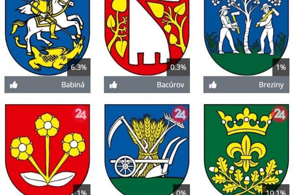Kompletné výsledky súťaže o najkrajší erb obce Zvolenského okresu