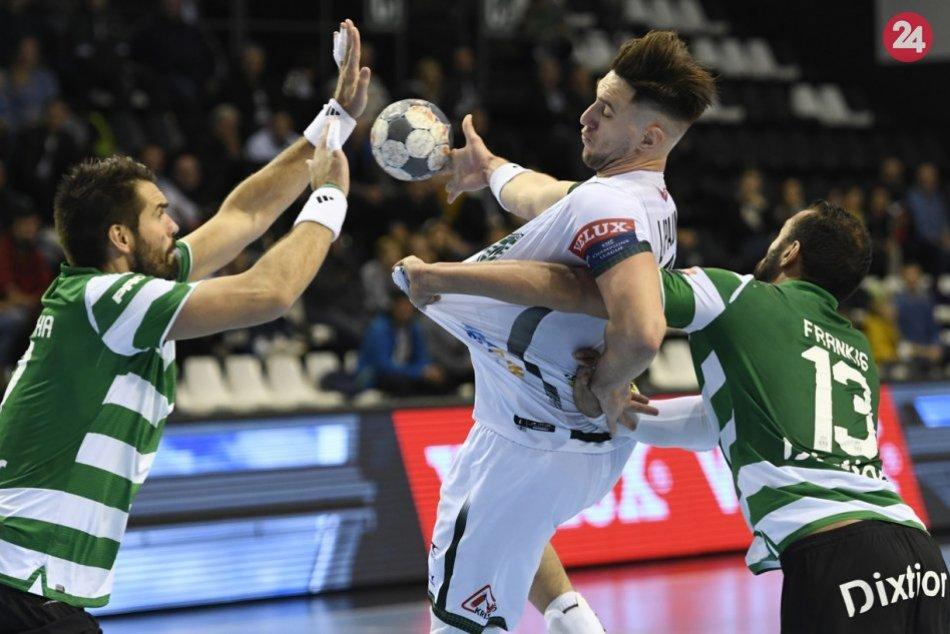 Zábery z vysokej prehry: Hádzanári Prešova v Lige majstrov neuspeli