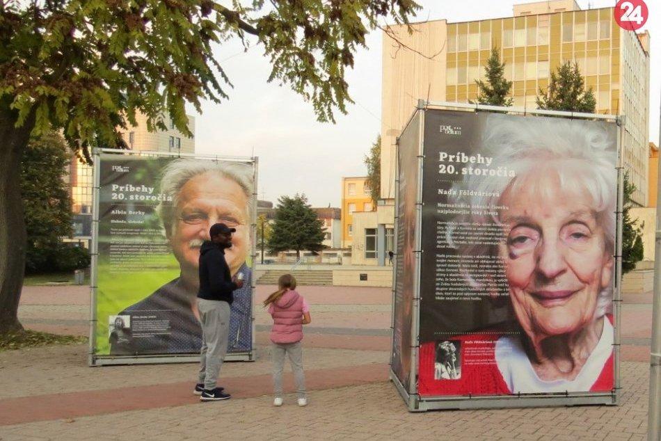 Návštevníkov centra Michaloviec upútali príbehy obyčajných ľudí