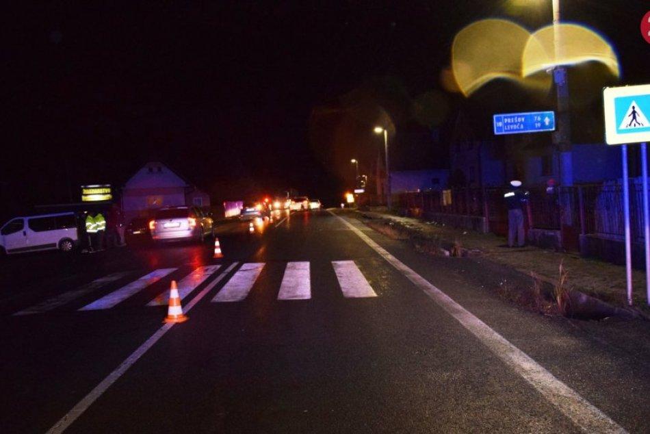 Policajné zábery z miesta: Po nehode vyhasol život Popradčana (†65)