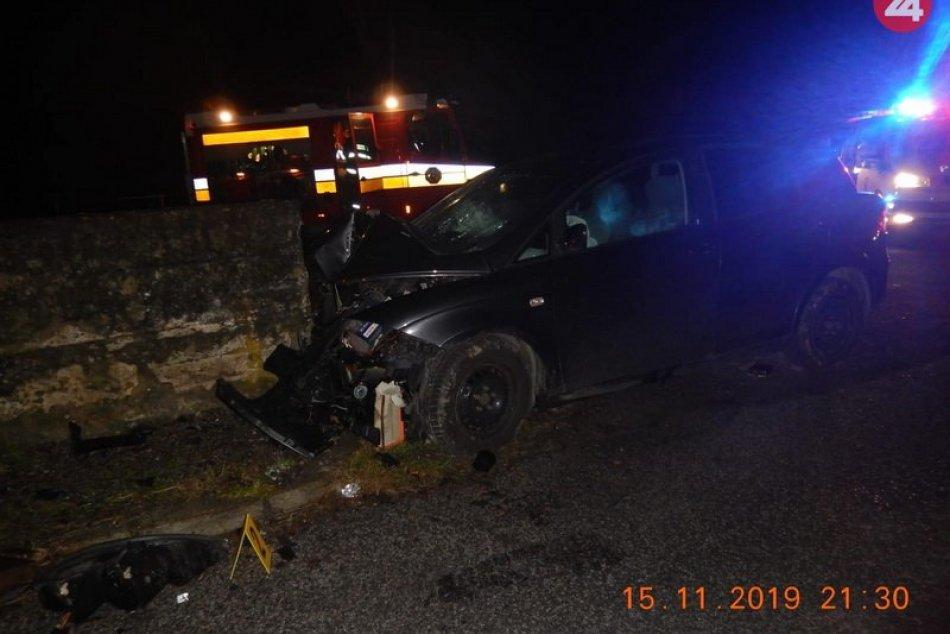Tragická nehoda v okrese Brezno na ceste medzi Čiernym Balogom a Sihlou