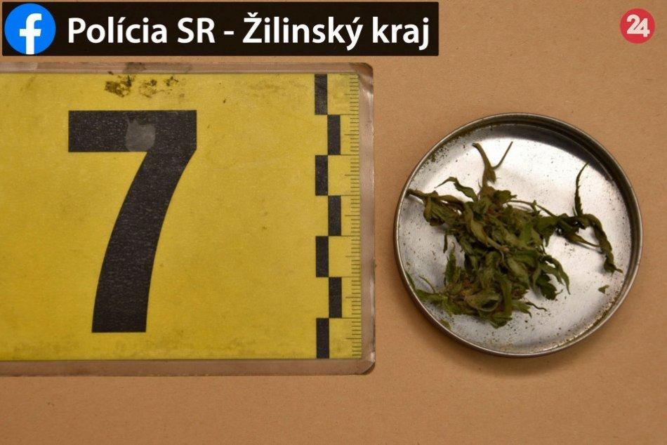 Policajná razia v Žiline: Martin (37) má problém kvôli drogám