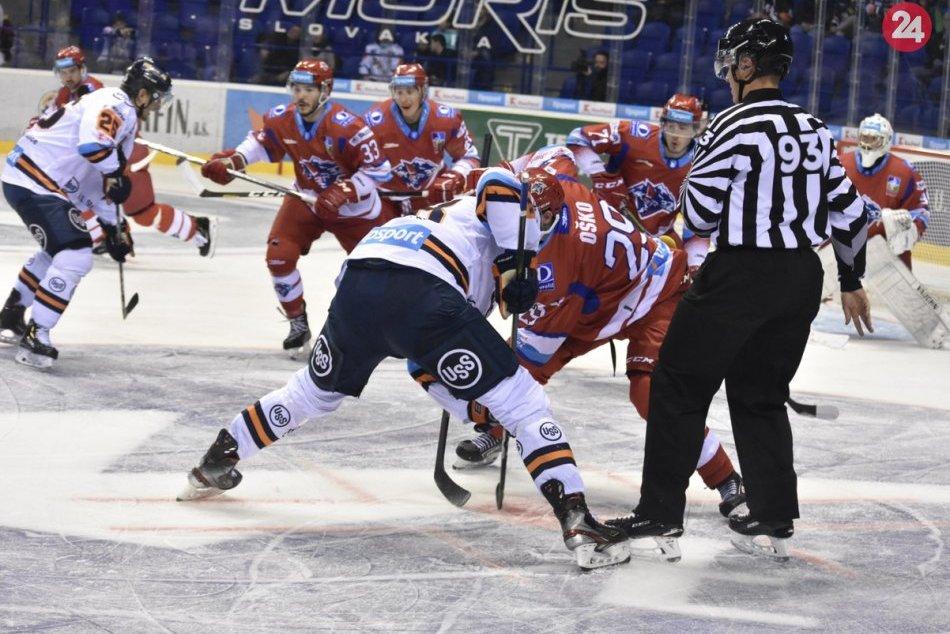 V OBRAZOCH: HC Košice-MHk 32 Liptovský Mikuláš
