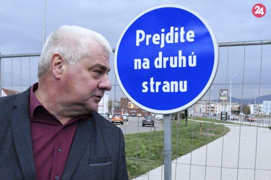 FOTO z miesta: Výstavby ciest v Prešove idú podľa plánu
