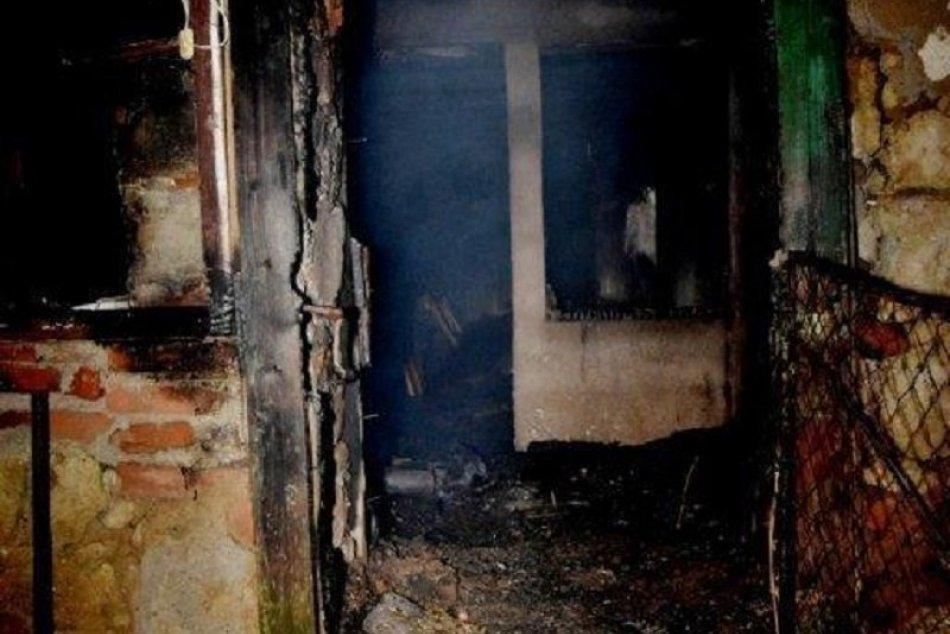 Tragický požiar v obci Veľká Tŕňa