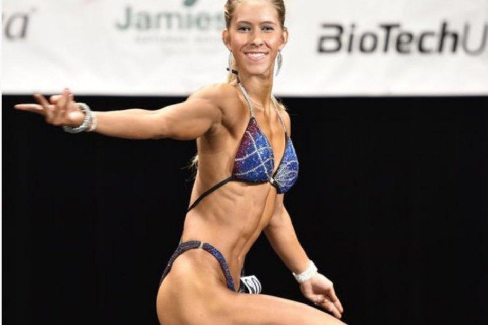 V OBRAZOCH: Mladá bystrická fitnesska Nikoleta žne úspechy
