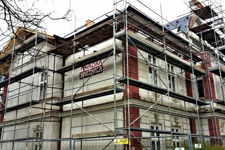 Považská knižnica sa rekonštruuje: Takto to počas nej vyzerá