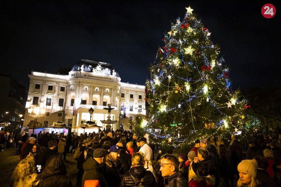 Vianočné trhy v Bratislave 2019