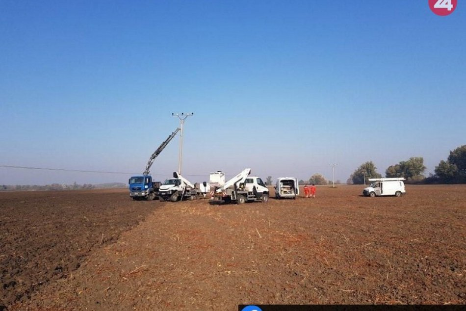 Kuriózna nehoda traktoristu v Bešeňove