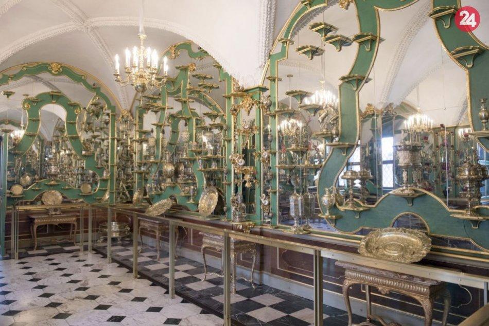 Lupiči poškodili historickú zbierku múzea v Drážďanoch