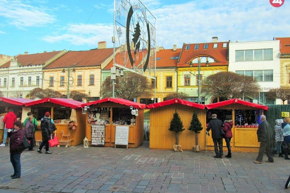V OBRAZOCH: Vianočné trhy v Prešove už začali