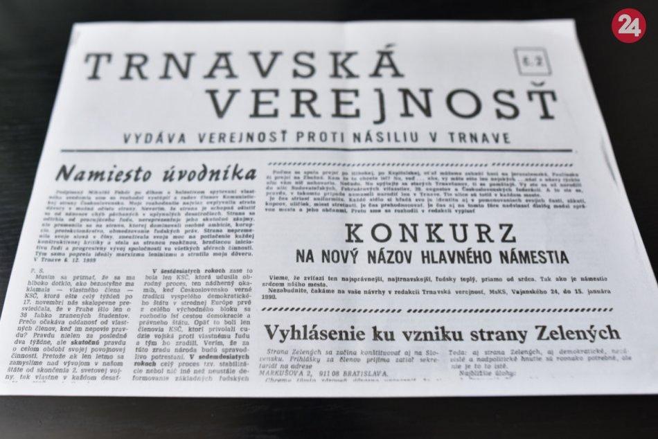 Noviny Trnavská verejnosť