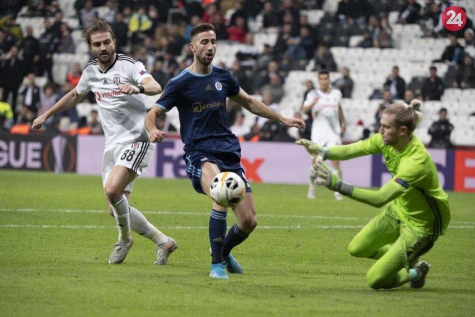 Besiktas Istanbul - ŠK Slovan Bratislava 2:1 (0:1)