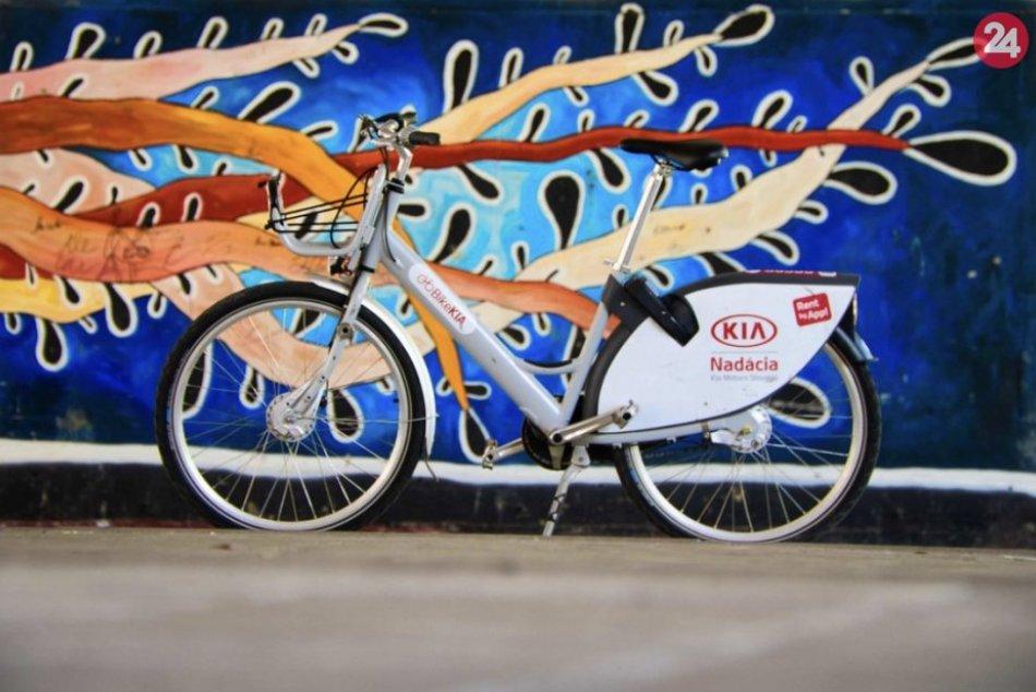 FOTO: Zdieľanie bicyklov v Žiline