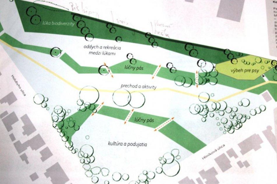 Plánovaná obnova parku Hliník v Nových Zámkoch
