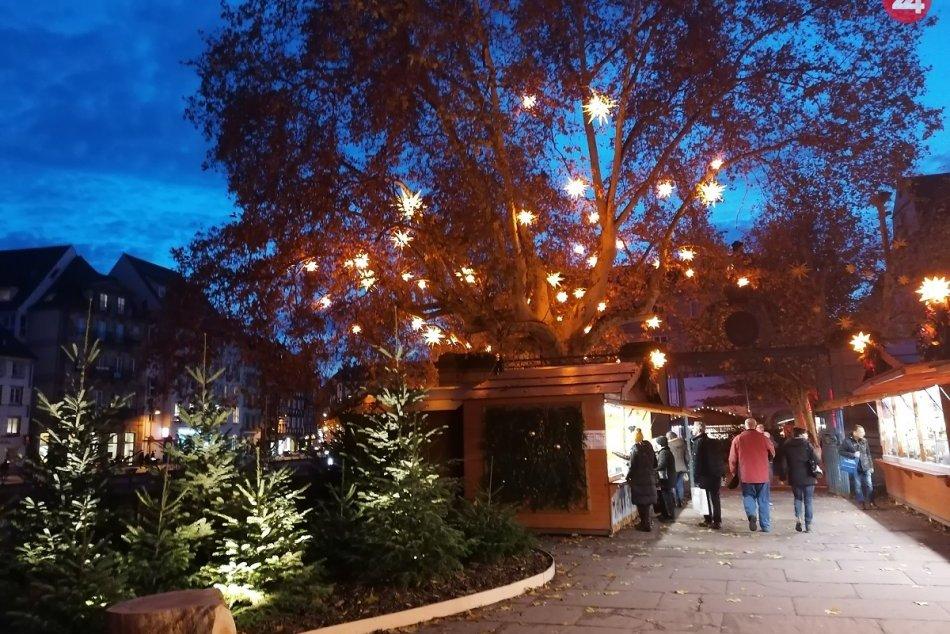 Vianočné trhy - Štrasburg