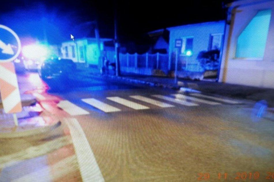 Policajné zábery: Tragická nehoda v Trnave