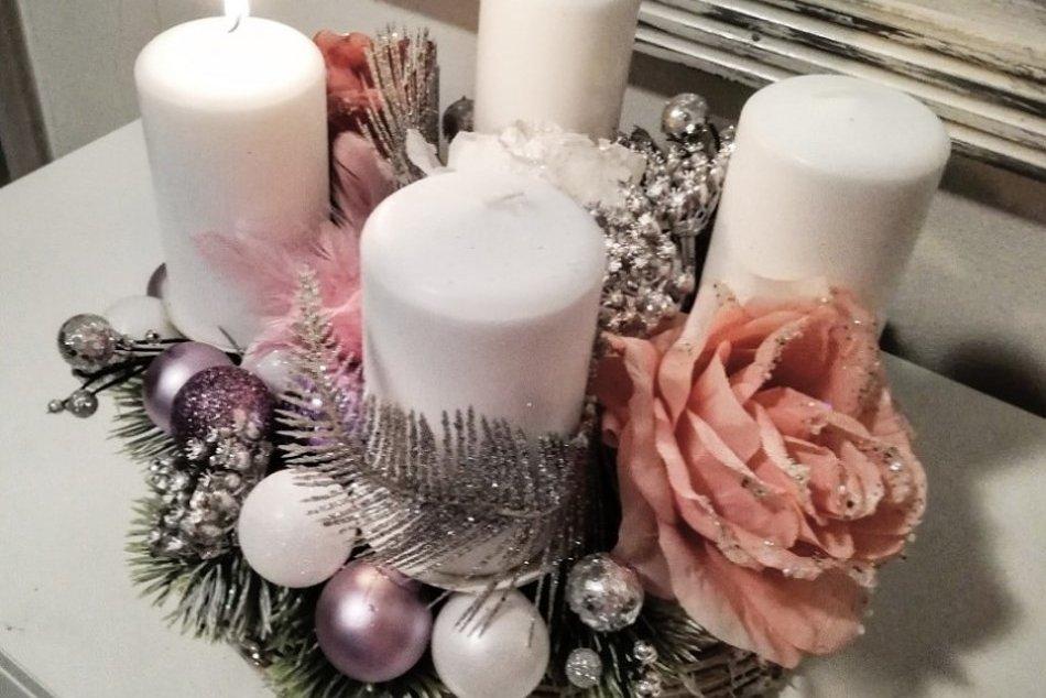 GALÉRIA: Žiarčania sa pochválili svojimi adventnými venčekmi