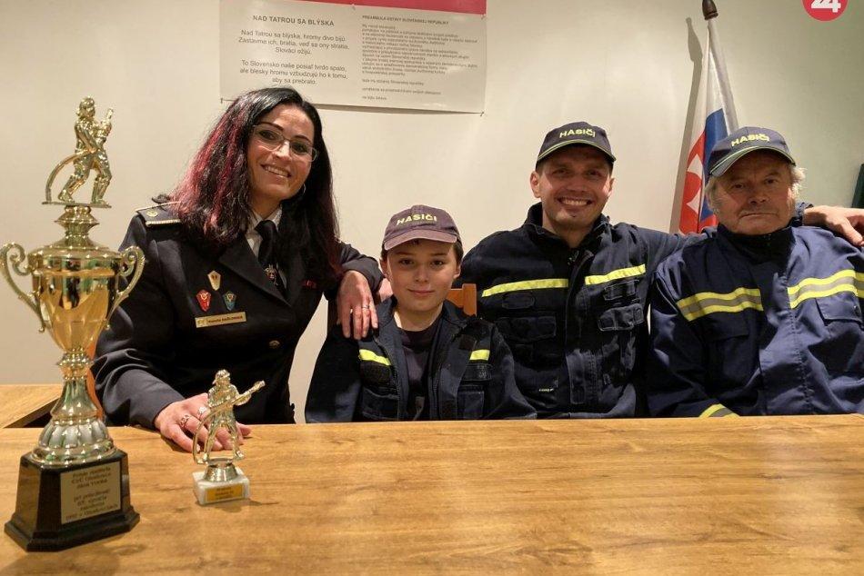 Rodina Hažlinských sa dobrovoľnému hasičstvu venuje viac ako 100 rokov