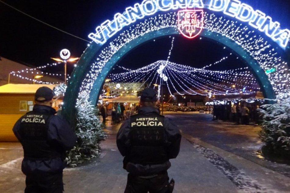 Zvýšené bezpečnostné opatrenia počas sviatkov vo Zvolene