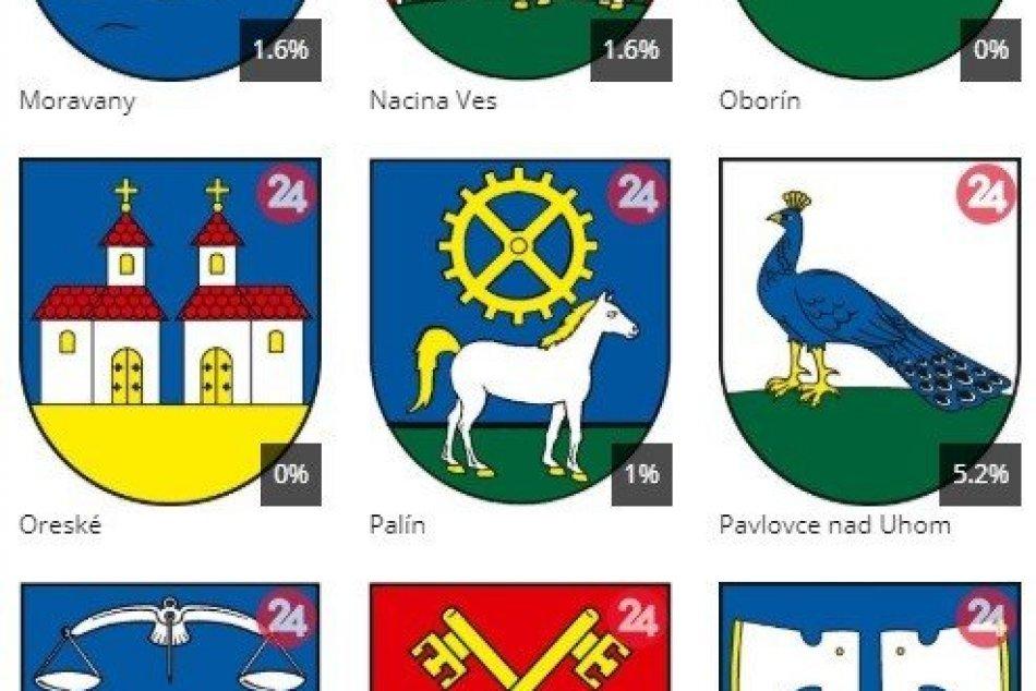 Kompletné výsledky súťaže o najkrajší erb obce Michalovského okresu
