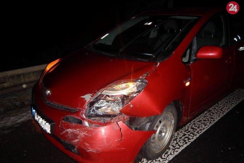 Nehoda na šášovskej križovatke: Vodička nafúkala vyše tri promile