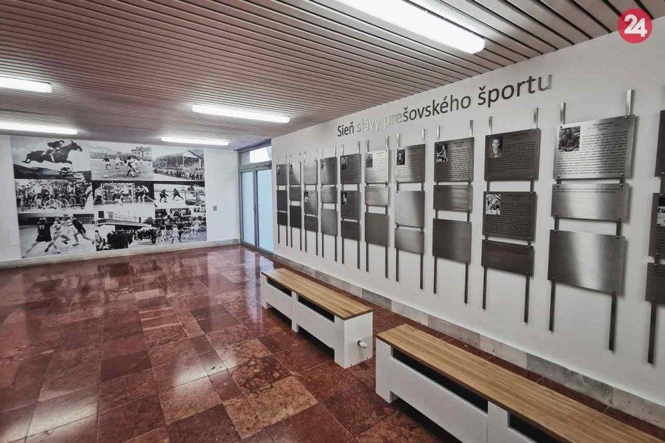 Pribudla tu novinka: Otvorili sieň slávy prešovského športu