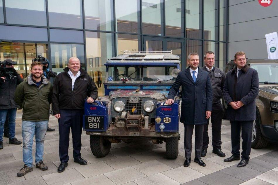 Pellegrini na návšteve Jaguar Land Rover