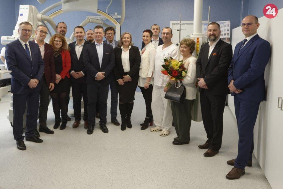 Nemocnica Svet zdravia Michalovce má nové centrum intervenčnej angiológie