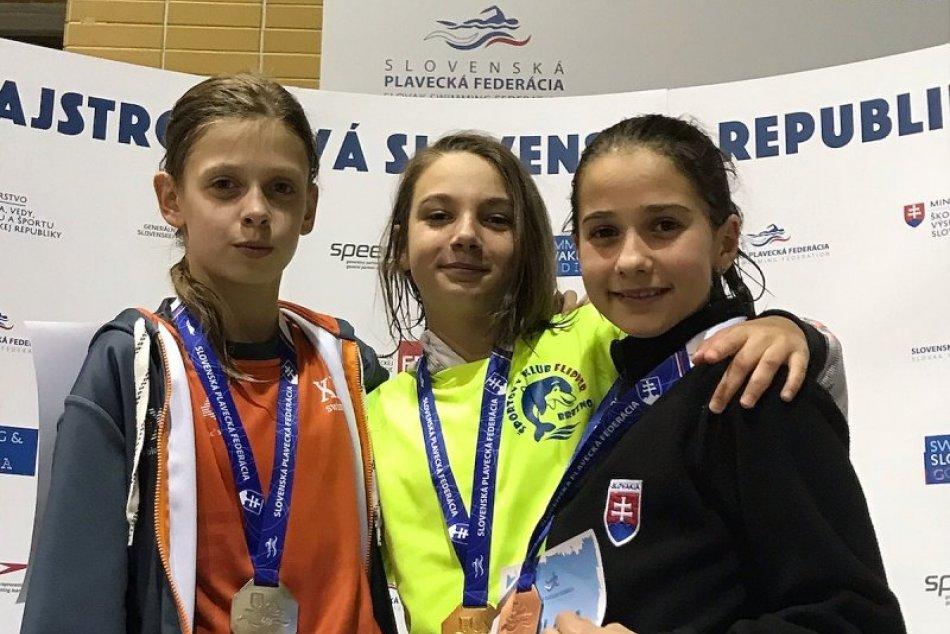 V OBRAZOCH: Plavkyňa Malíková zUMB má dve medaily zMajstrovstiev Slovenska