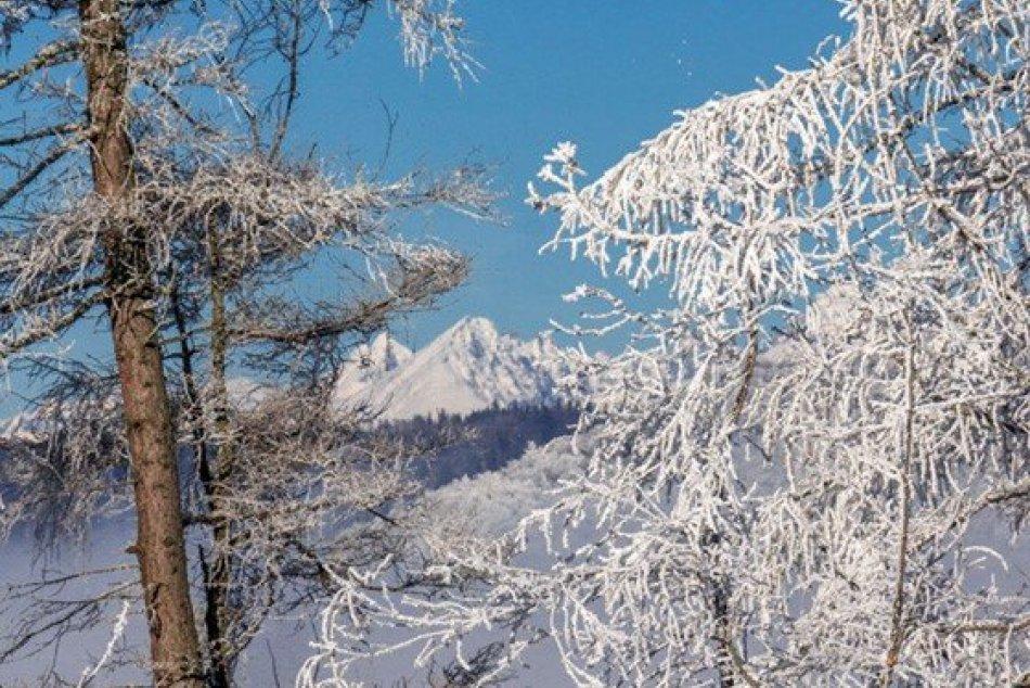 Obrazom: Zimné zábery z okolia Dobšinej