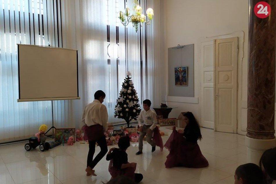 Prekvapenie pre deti z Detského domova F. Kubáča v Michalovciach