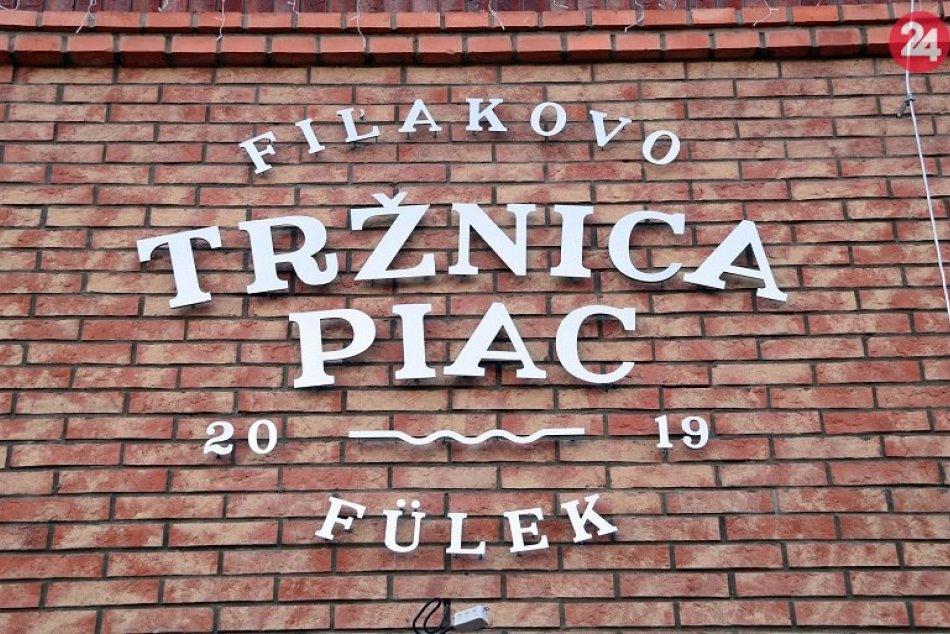 Nová tržnica vo Fiľakove