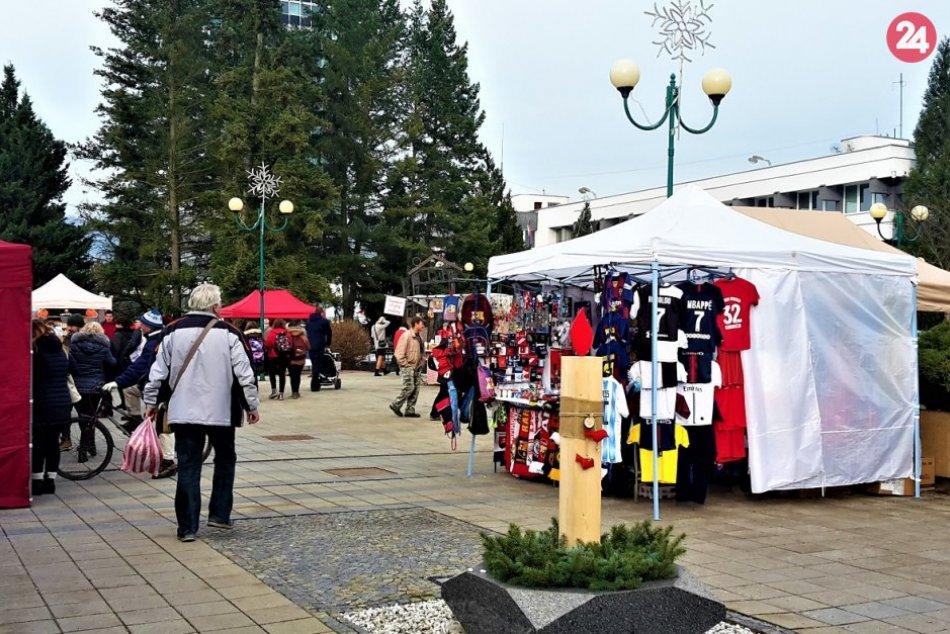 Vianočné trhy v Považskej Bystrici na FOTO