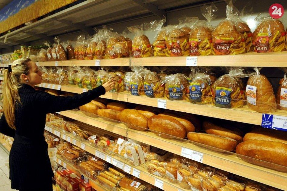 Nákupy v potravinách