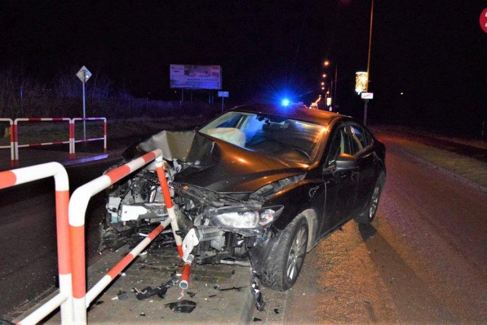Nehoda na Prievidzskej ulici v Bojniciach: Vodič s 2,60 promile urobil toto