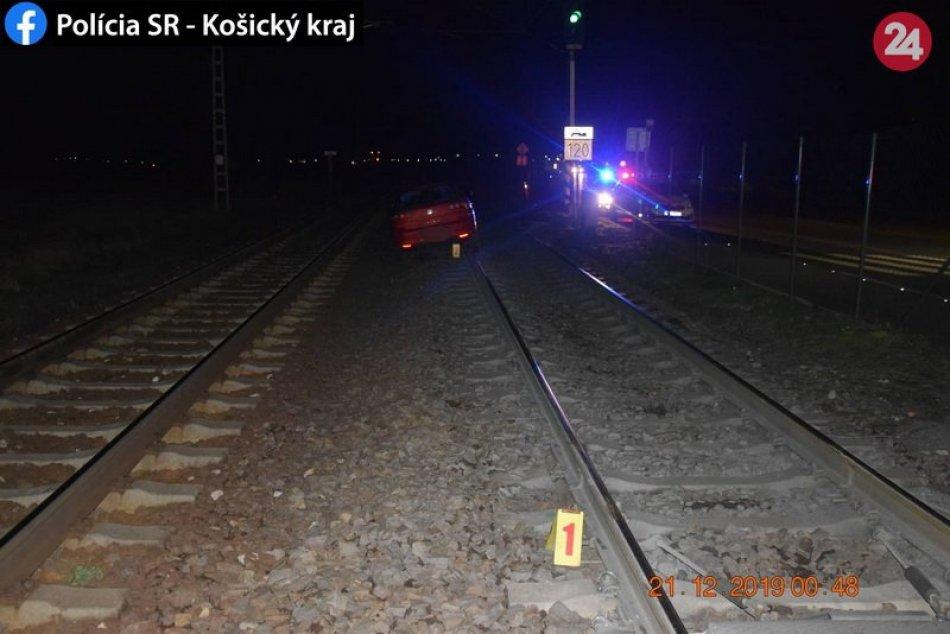 Opitá vodička zablokovala v Smižanoch železničnú dopravu