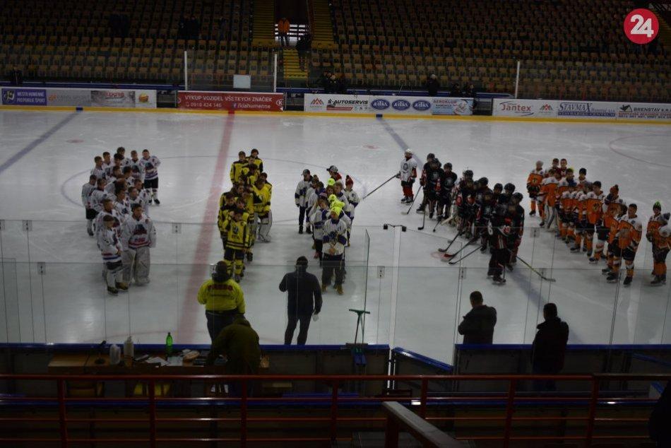 FOTO: Na humenskom zimáku sa uskutočnil medzinárodný turnaj hokejových talentov