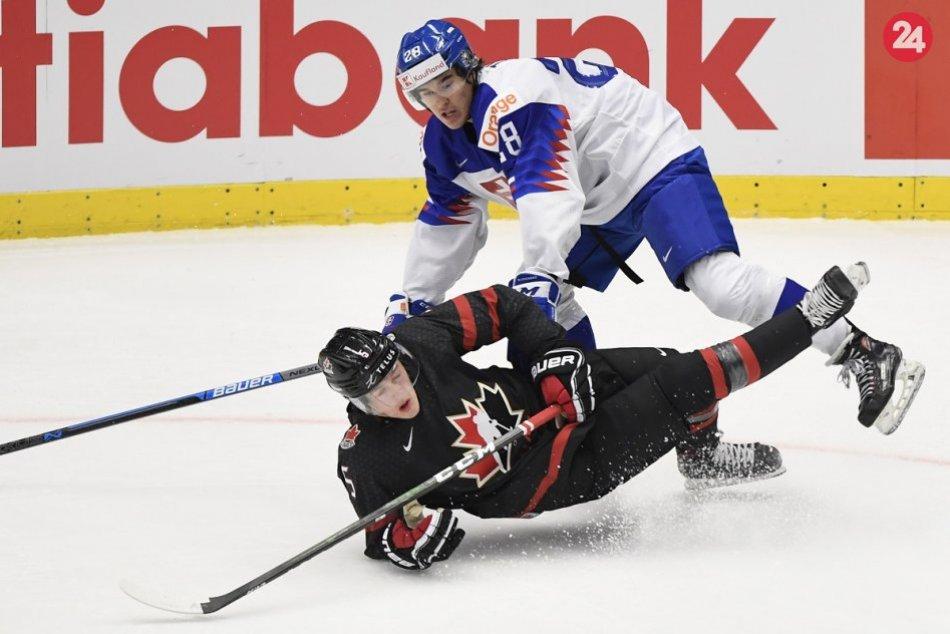 FOTO zo štvrťfinále MS do 20 rokov Kanada - Slovensko