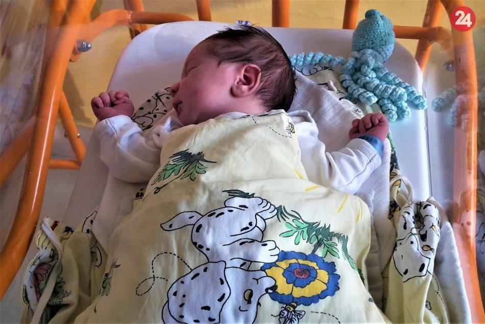 FOTO: Bábätká z považskobystrickej pôrodnice narodené na prelome rokov