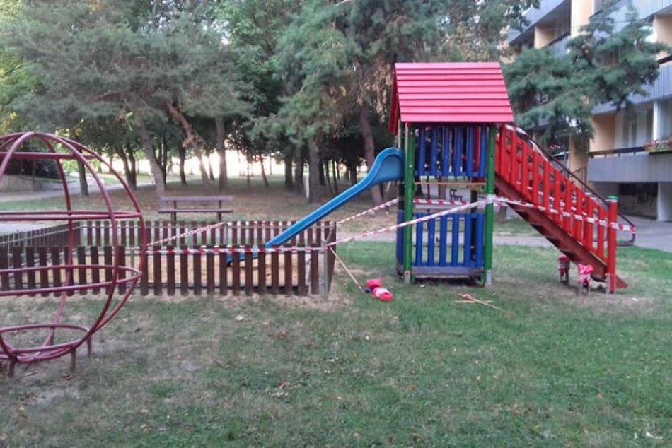 Dúbravka: Detské ihriská