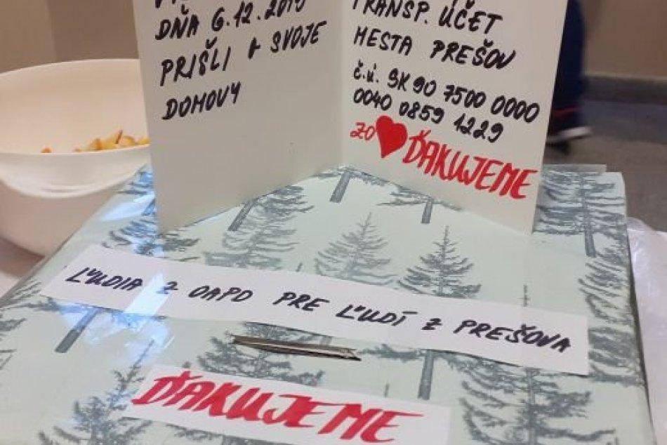 Pomoc pre Prešov prišla aj z Prievidze: Študenti zorganizovali zbierku