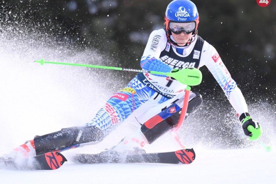 FOTO: Slalomové víťazstvo Petry Vlhovej v Záhrebe
